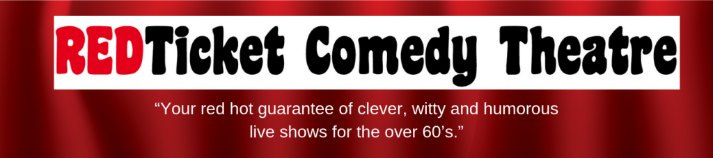 REDTicket Comedy Theatre header